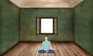ध्यान करने की जगह, meditation place in hindi