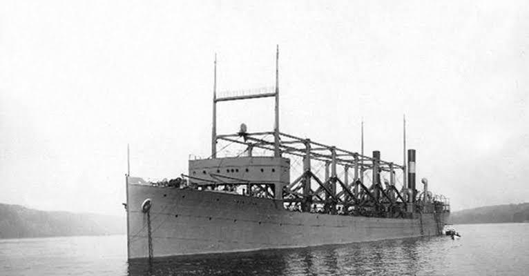 U.S.S.Cyclopes in hindi, Bermuda triangle shipping hindi