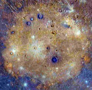 Caloris basin of Mercury in hindi