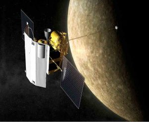 Messenger space ship