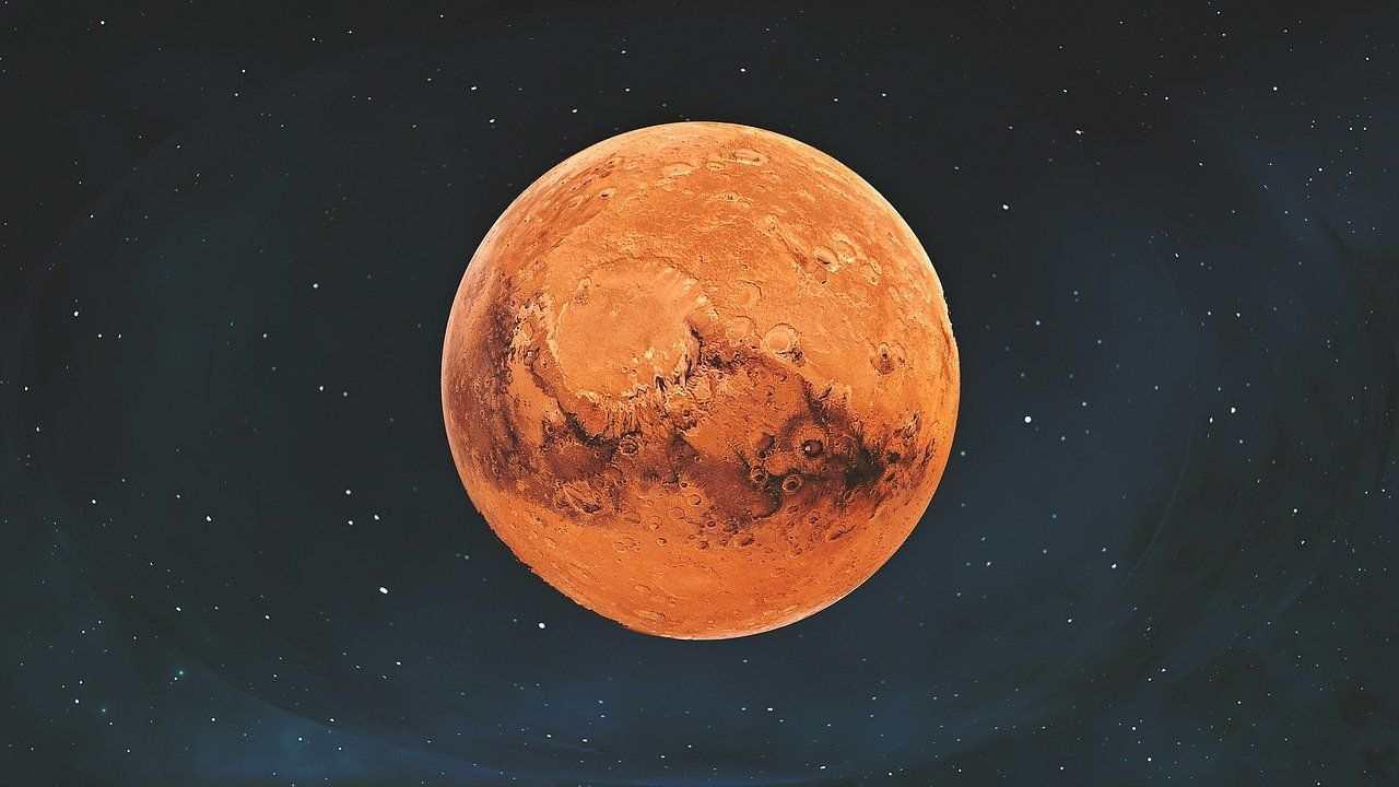 Mars in hindi, मंगल ग्रह