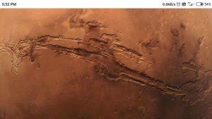 Valles Marineris, मंगल ग्रह की घाटी