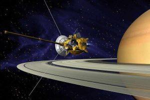 Cassini mission in hindi