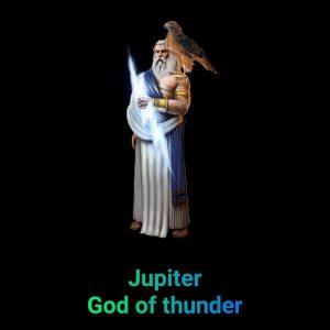 Jupiter god, बृहस्पति ग्रह