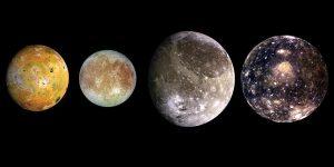बृहस्पति ग्रह के चंद्रमा, Jupiter moons