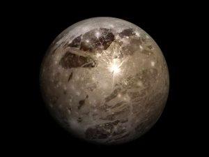 Ganymede in hindi