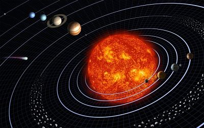 What is asteroid belt in hindi