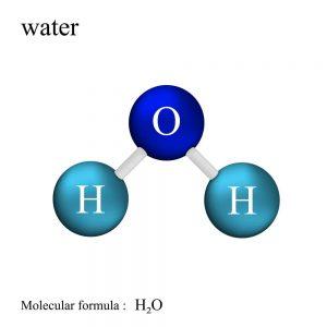 पानी के अणु, water molecule in hindi